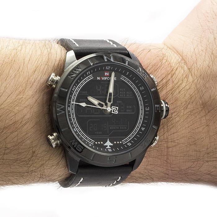 4854736d Часы Naviforce 9144BKW Black-White Часы Naviforce 9144BKW Black-White ...