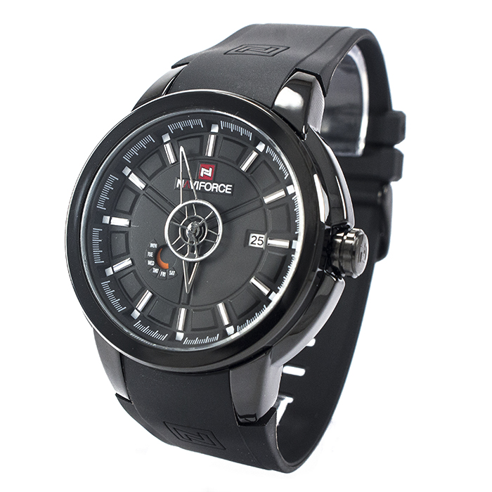 Часы Naviforce 9107BKW Black-White