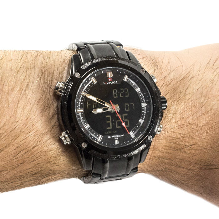 Часы Naviforce 9050BK Black