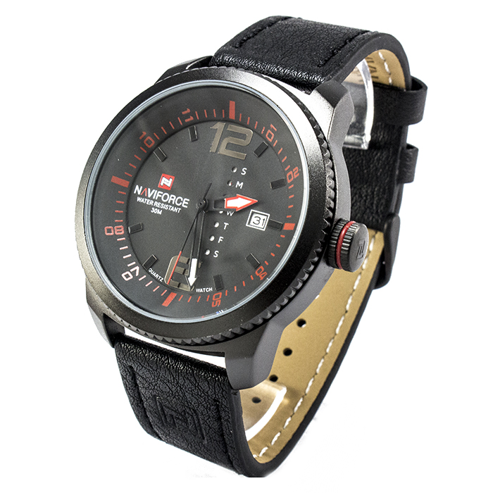 Часы Naviforce 9063BKR Black-Red