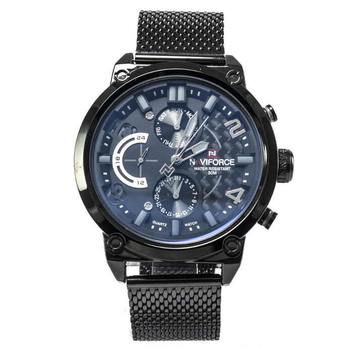 Часы Naviforce 9068BKW Black-White