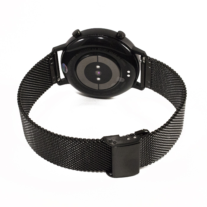 Смарт-часы NO.1 DT96 Silicone Band Black