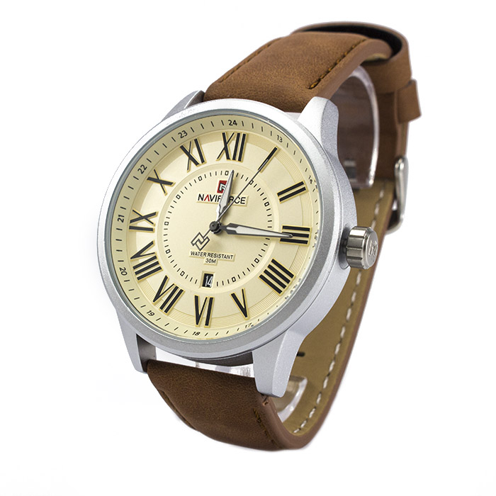 Часы Naviforce 9126SVB Silver-Brown