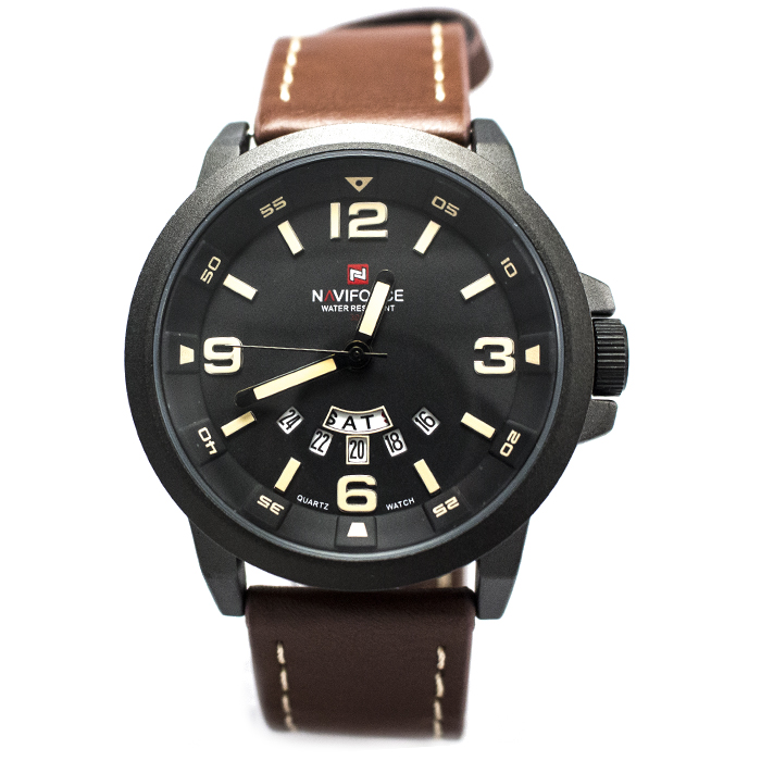 Часы Naviforce 9028MBRY Brown-Yellow